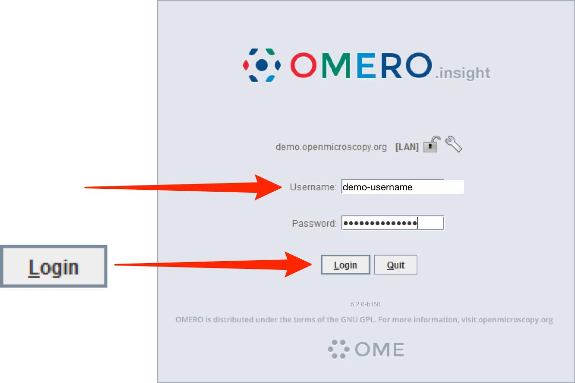 OMERO Demo Server